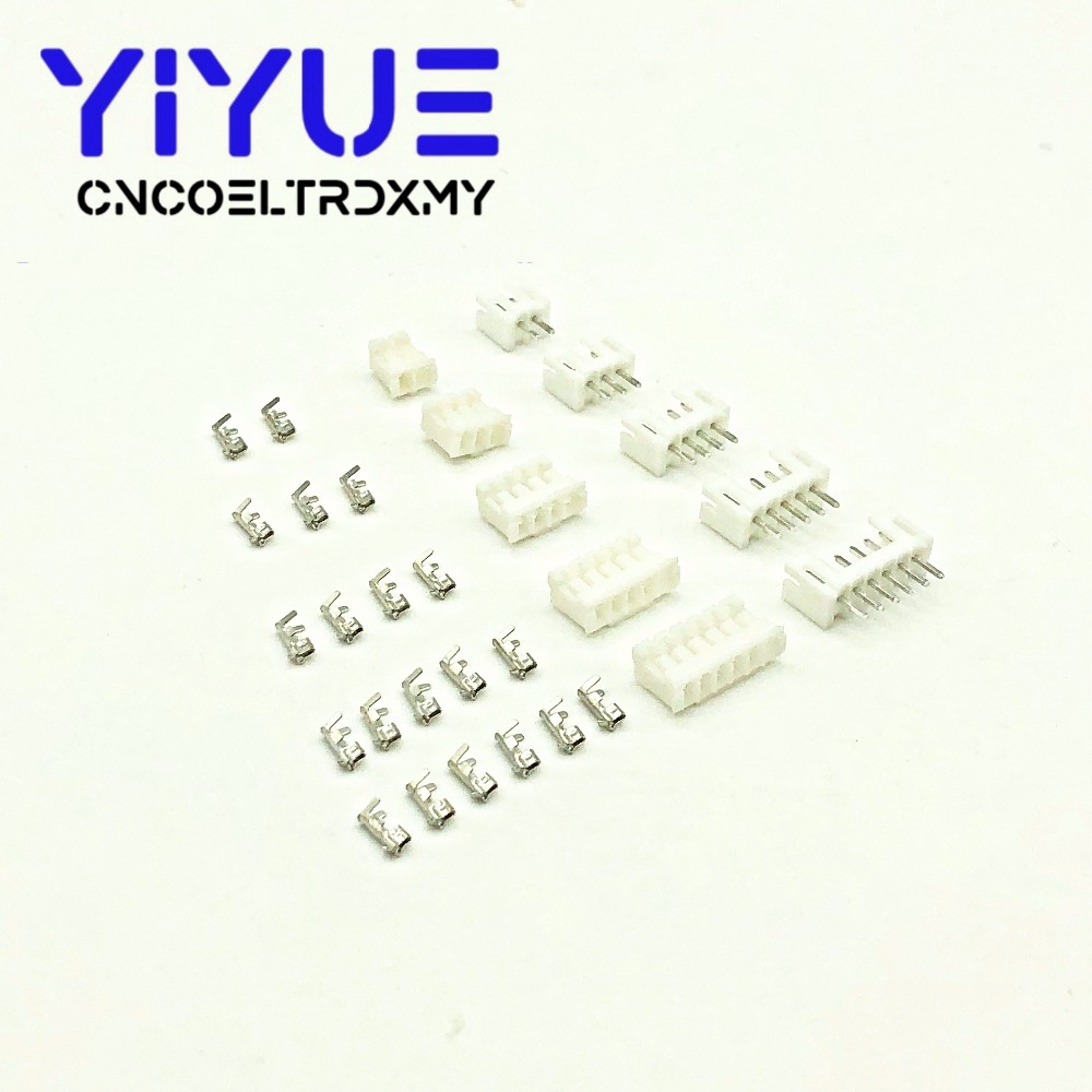 20sets PH2.0 2/3/<font><b>4</b></font>/5/6/7/8/9/10/11/12 <font><b>pin</b></font> 2.0mm Pitch Terminal Kit / Housing / <font><b>Pin</b></font> Header JST Connector Wire Connectors Adaptor image