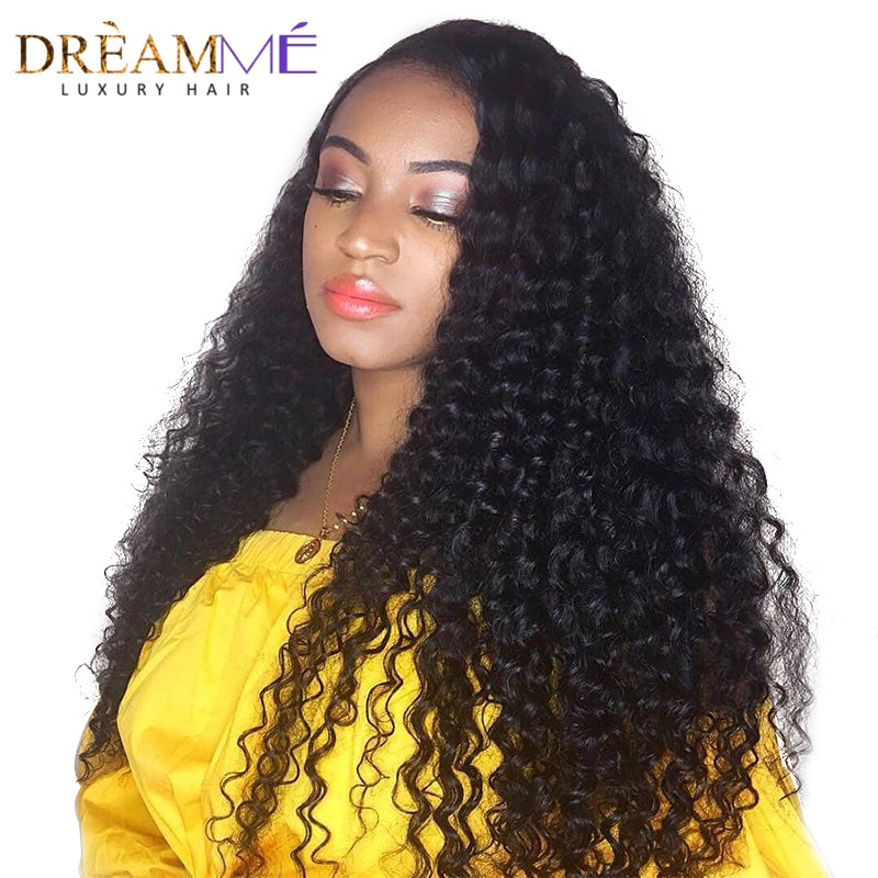 250 Density 360 Lace Frontal Wig For Women Black Color Density Brazilian Deep Wave Lace Front