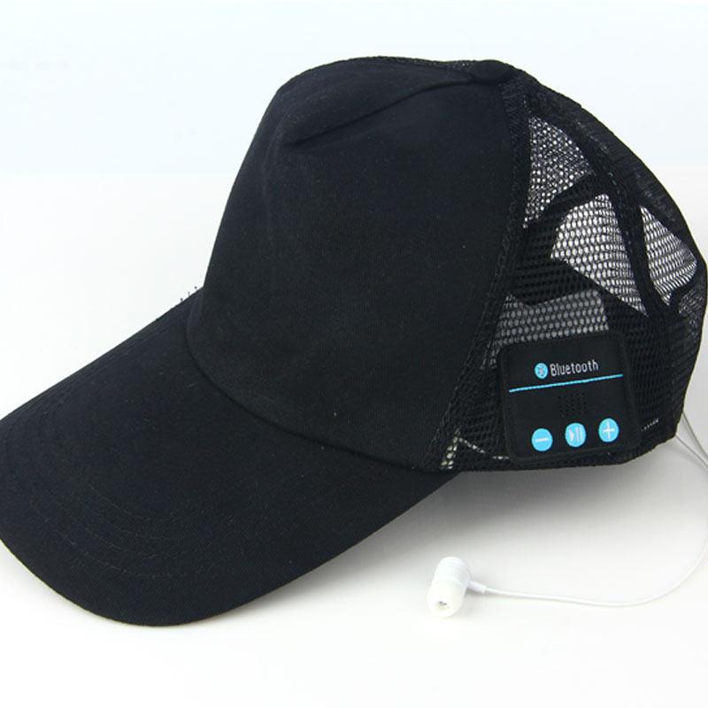 98ca5439458 Vapeonly Wireless Bluetooth Music Headphone Hat Outdoor Sports Baseball Cap  Smart Sun Hats w  Mic Music Headset for iphone 6 7 8-in Bluetooth Earphones  ...