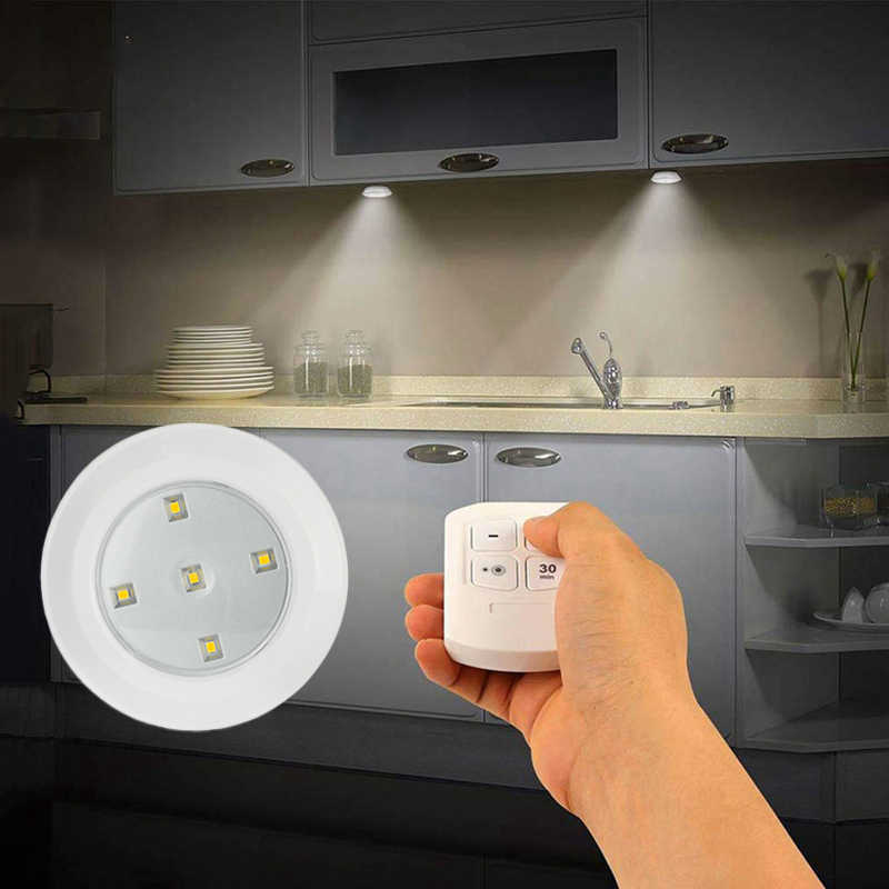 Dimmable Led Cabinet Light Battery