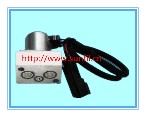 цена High quality 702-21-57400 Solenoid Valve excavator digger spare parts,4PCS/LOT,Free shipping