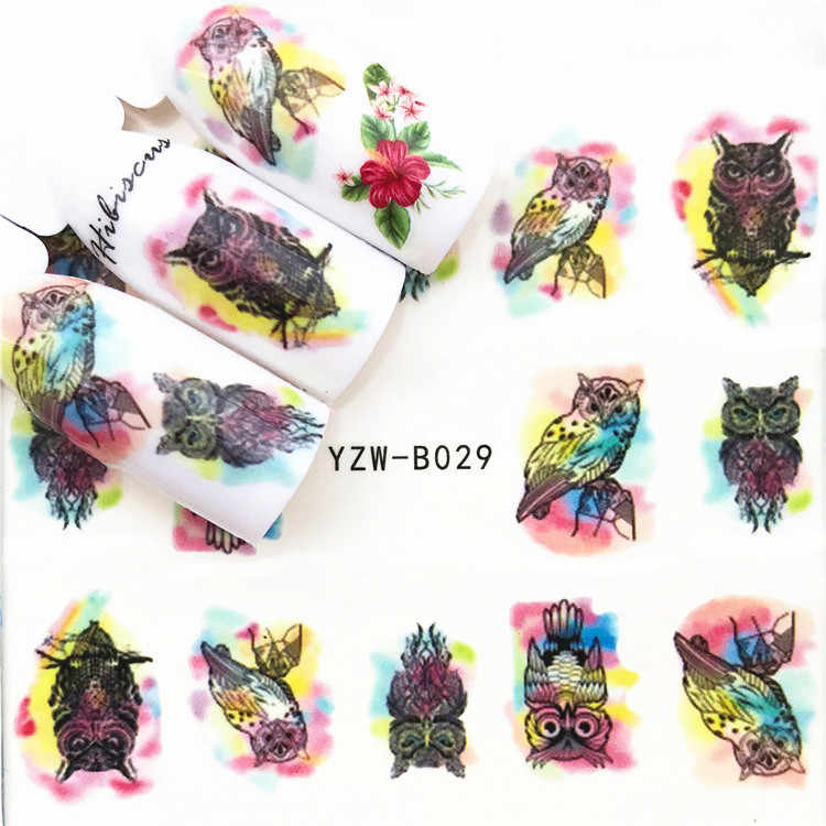 LOLEDE 1 แผ่นหลากหลายผูกโบว์เล็บสติกเกอร์ดอกไม้รูปลอก Sliders สำหรับตกแต่งเล็บ Tattoo Manicure Wraps เครื่องมือ 1010