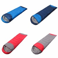 2017 Top quality Waterproof Sleeping Bag Outdoor Camping Hiking Travel Single Thick Carry Bed More than 1350g 4Colors New Brand