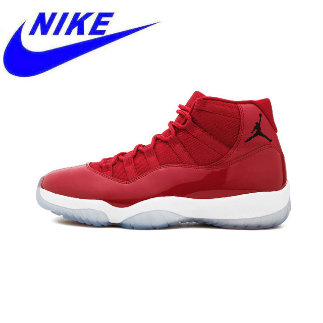 brand new f55b1 03d7f US $239.0 |Original New Arrival Nike Air Jordan 11 Retro 96 Women  Basketball Shoes,New Women Leather breathable AJ11 Sport Shoes-in  Basketball Shoes ...