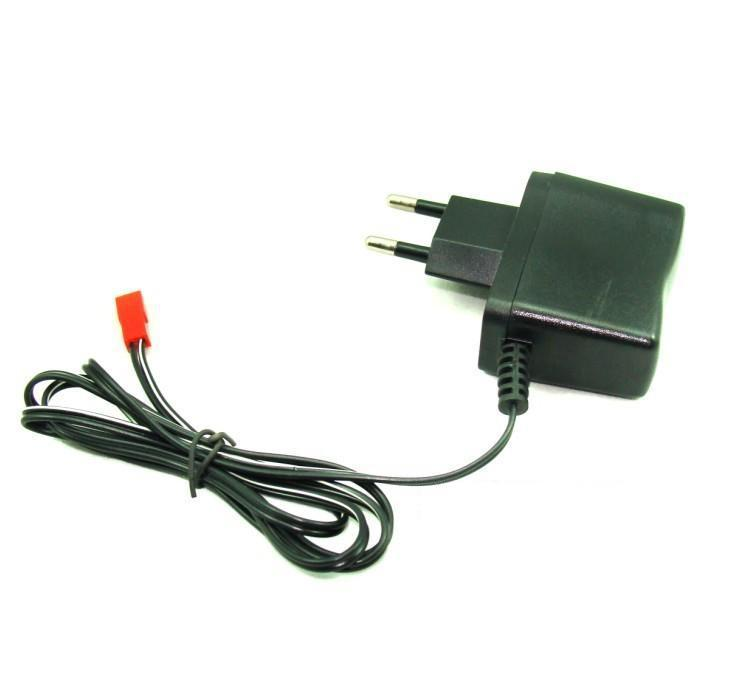 3.7V 600mA DC charger with AC110-240V 50/60Hz two round plugs Europe standard JST connector for RC toy wholesale Free shipping