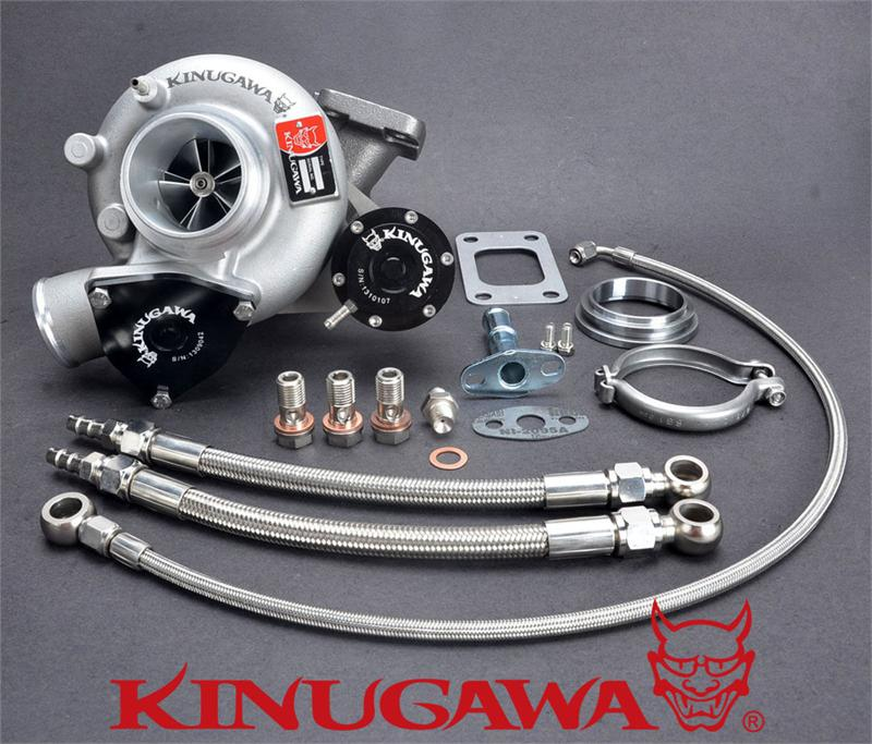 Kinugawa Billet Turbocharger Bolt On 2 4 TD05 16G 6cm T3 V Band for SAAB 900