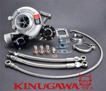 Kinugawa Billet Turbocharger Bolt-On 2.4″ TD05-16G 6cm T3 V-Band for SAAB 900 9000 STD