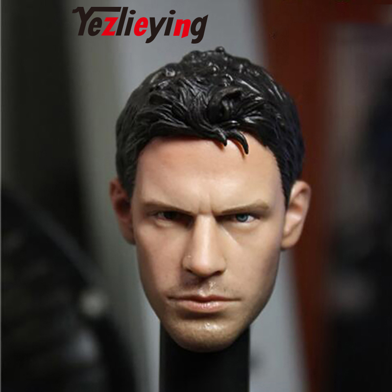 Delicate Mens Head Sculpture Model Toy 1/6 Scale Resident Evil Pier Chris Radfield Man 12-inch Action Figure AccessoriesDelicate Mens Head Sculpture Model Toy 1/6 Scale Resident Evil Pier Chris Radfield Man 12-inch Action Figure Accessories