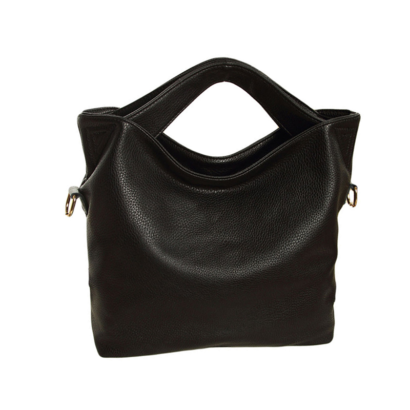Hot Fashion Women Vintage PU Leather Tote Handbag Chic Office Ladies Crossbody Messenger Shoulder Bag 4