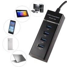 4 porta Usb 3.0 de Alta Velocidade Multi Splitter Adaptador Hub para Tablet Portátil Multi USB Splitter para Apple Macbook Air