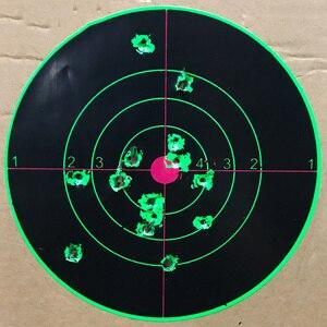 Image 3 - Strzelanie do celu 14X14CM Splash Flower Target 5.5 Cal reaktywność kleju strzelaj cel cel do pistoletu/karabinu/pistoletów