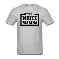 Mens vui báo giá đồ họa t áo sơ mi Trắng Mamba t shirts cho man Cổ Điển Collar Tee Bán Buôn