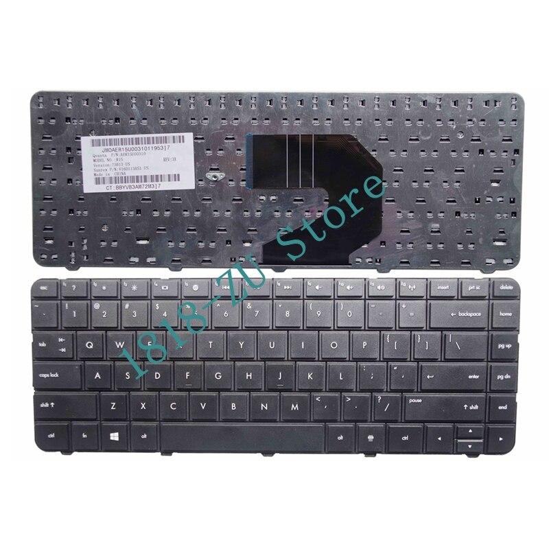 YALUZU English US Black Keyboard For HP 646125-001 645893-001 646125-B31