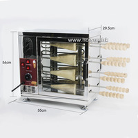 Commercial 110V 22V Electric Chimney Cake Oven Kurtos Kalacs Maker Baker Machine