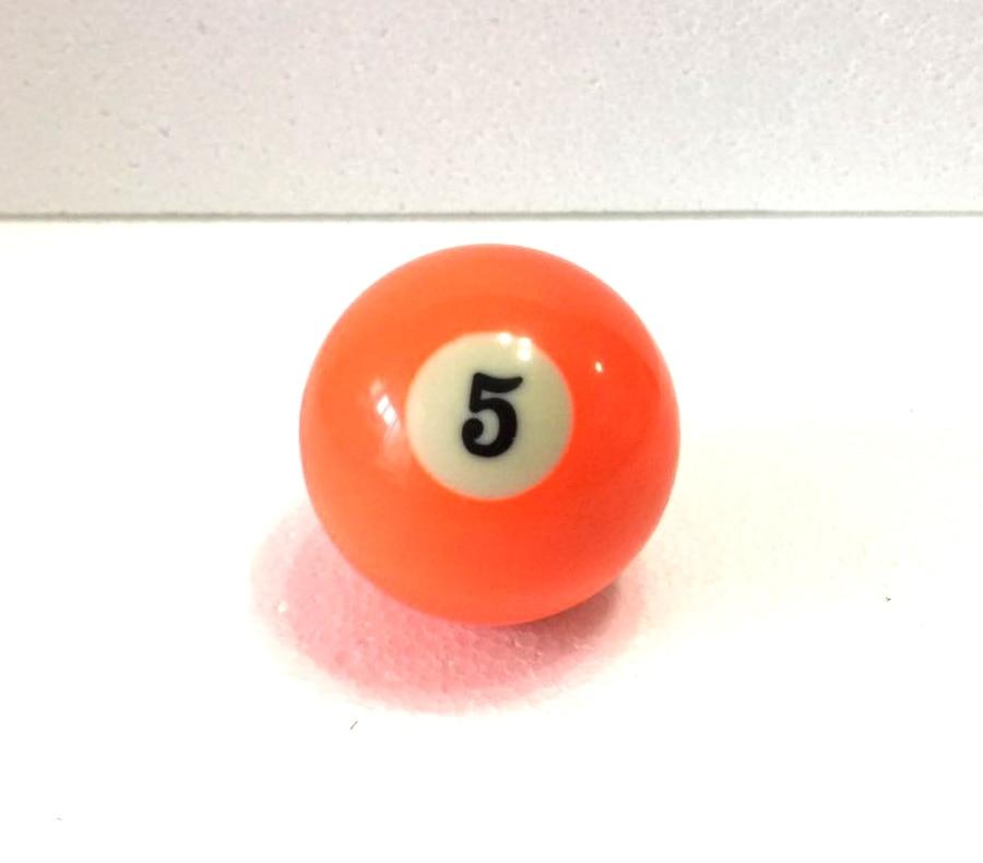 Free Shipping 1pcs NO.5 Pool Snooker Billiard Table Cue NO.5 Ball 2-1/4