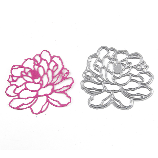 flower metal cutting die stencils scrapbooking accessory floral diy
