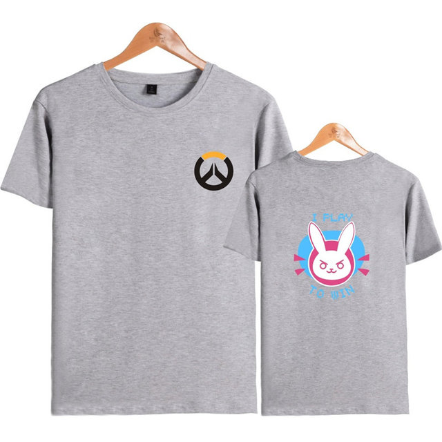 Anime Game Overwatch 3D Printed T-Shirt OW D.VA Cosplay Summer Top  Casual Short Sleeve Lover Gift 1