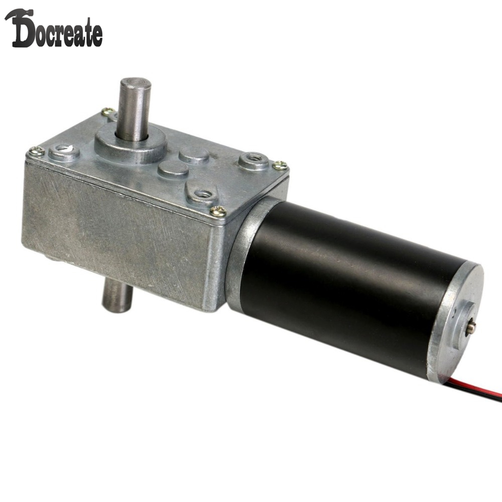 12V 160rpm Reduction Motor Worm Gear Double Shaft DC Motor Cear-box Motor симгал 40мг 28 таблетки