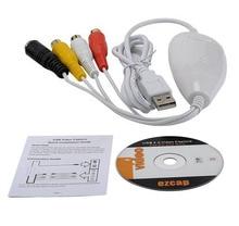 Original Ezcap1568 USB Audio Grabber Erfassen Analog Video von VHS, V8, Hi8, 8 MM Camcorder tv stb digital, Fit MAC OS & Win10 64