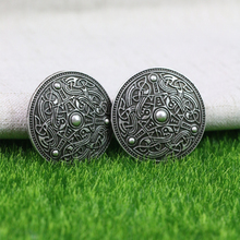 Langhong 1pcs Nordic Vikings Amulet Sweden Scandinavian Dragon Set Brooches Viking brosch jewelry Talisman