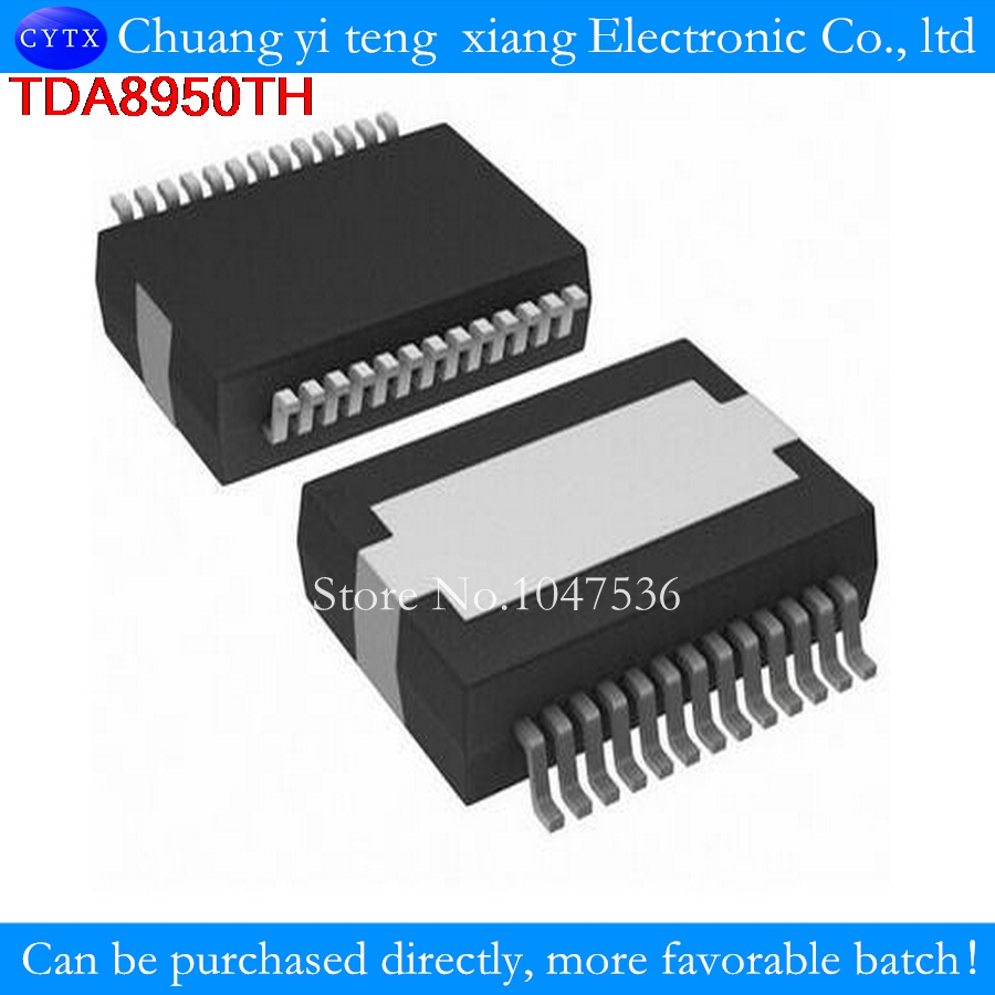 Tda8950th Hsop24 Tda8950 Smd 2 X 150 W Class D Amplifier 1pcs In Circuit
