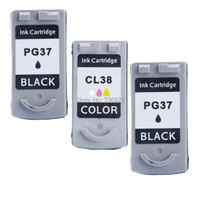 3X Print Ink Cartridge PG 37 CL 38 PG 37 CL 38 For Canon Pixma MX310