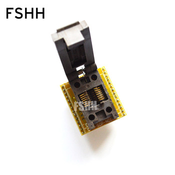 FSHH 150mil SOP14 to DIP14 programmer adapter Clamshell for SOP14 FP14 test socket Pitch=1.27mm width=3.9/6.0mm lm324n dip14