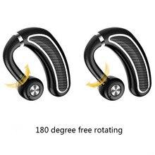 K21 Unidade de Negócio Do Carro Handsfree Fone de Ouvido Bluetooth 4.1 fone de Ouvido Sem Fio HD Microfone Sweatproof Fone de Ouvido Intra-auriculares para Iphone 5 6 7 8 X