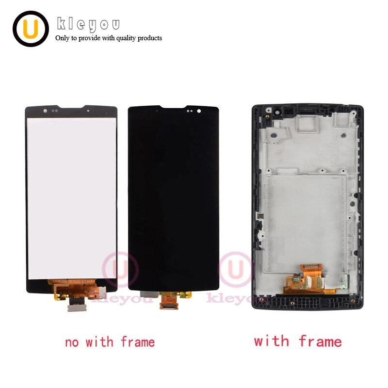 4.7 Testé pour LG Esprit Affichage H440 H442 LCD Écran Tactile avec Cadre H422 H440N C70 LG Esprit LCD remplacement