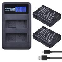 2x 1500mAh EN EL14 EN EL14a EN EL14 Battery + LCD USB Dual Charger for Nikon P7800,P7100,D3400,D5500,D5300,D5200,D3200,D3300,Df