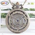 Naruto anime Naruto Konoha Kakashi estudante liga corrente do relógio de quartzo relógio de bolso quatro geração olho DS054