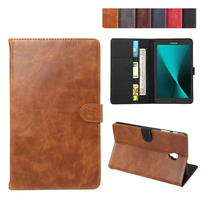 Magnet Luxury Stand pu Leather Case Cover For Samsung Galaxy Tab A 8.0 2017 T380 T385 SM-T385 tablet funda cases bluetooth wireless keyboard case for samsung galaxy tab a 8 0 t380 t385 pu leather stand cover detachable keypad protective case