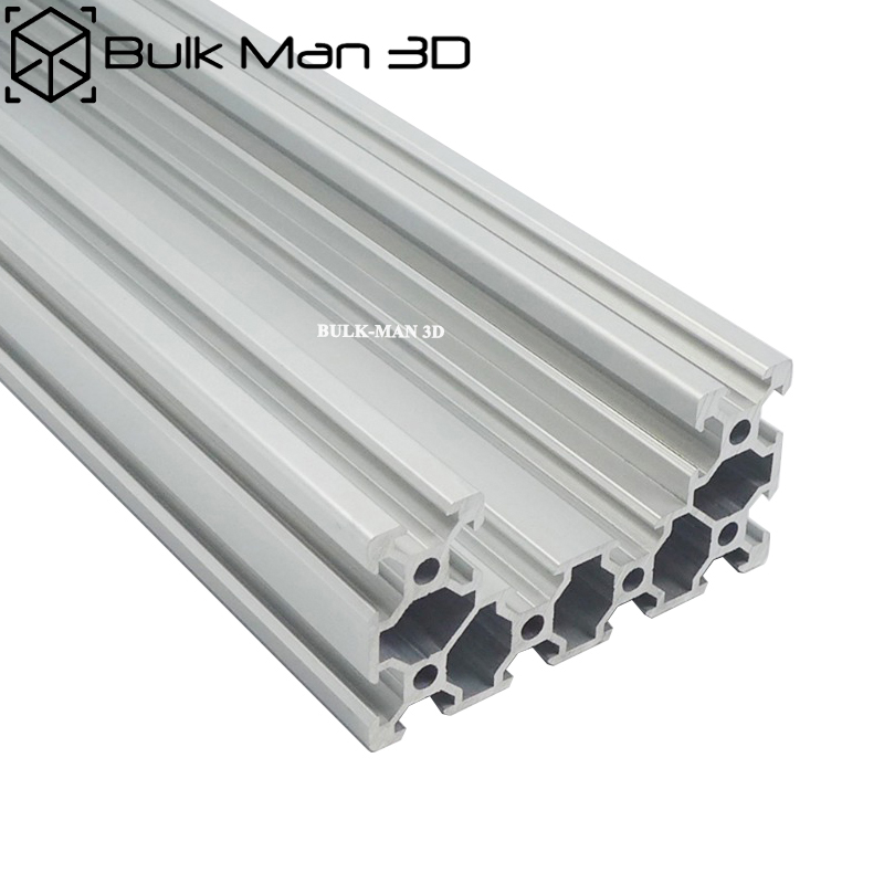 5Meters Lot C Beam Linear Rail 4080 Black Silver Anodized Aluminum Profile on DIY 3D printer