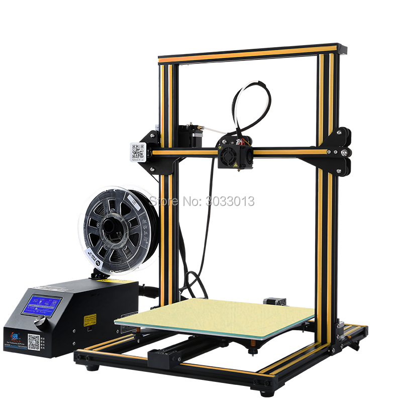 CR-10S 3D Printer Upgrade Dual Z Rod Screws,Filament Monitoring Alarm Protection Printer 3D DIY Kit CREALITY 3D High precision