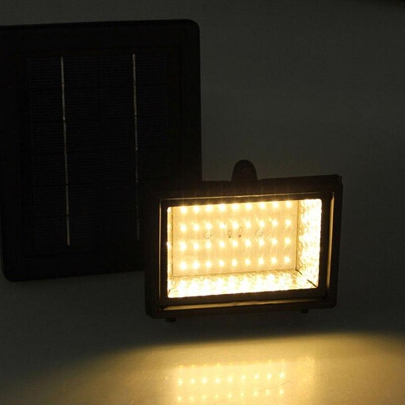 TAMPROAD Outdoor Solar Powered Flood Light 40 LED Spotlight Lamp ...