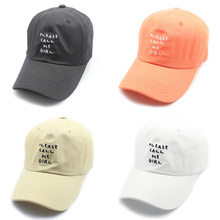 Embroidery Please Call Me Girl Cotton Kpop Hats Dad Hat Men Women Dancing Sport Caps Baseball Cap Adjustable Hiphop Snapback Cap climate dancer unique novelty geography world map printing snapback caps adjustable africa men women hiphop hat for