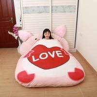 Huge Mattress Chinese Animal 12 Zodiac Sleeping Pad Soft Thicken Cartoon Bed Sleeping Bag Lounger Sofa