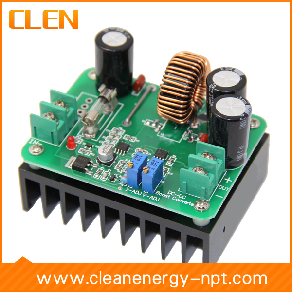 12V 80V 10A 600W DC step converter,Adjustable Boost converter,DC boost transformer,High Power DC-DC modual - CLEN Clean Energy store