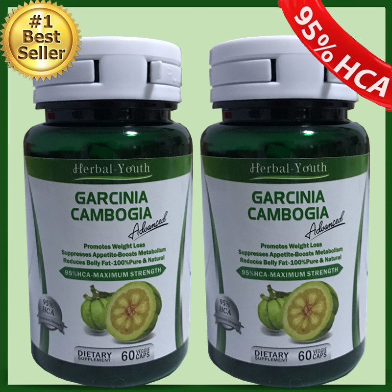 2 bottles Free Shipping! Pure garcinia cambogia extract slimming products loss weight diet product for women