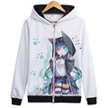 Vocaloid Matryoshka Hatsune miku Kagamine Len Rin Gumi Cosplay Costume Top coat Hooded Jacket hoodies Unisex Anime Hoody