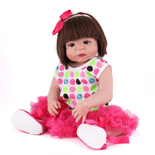 Npkdoll marques 55 cm silicone reborn poupées vie doux bjd princesse poupée  reborn toys pour filles 220942128f7