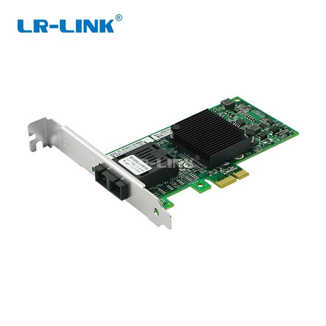 LR LINK 9260PF LX gigabit ethernet PCI Express adattatore di scheda di Rete in fibra ottica Per PC intel 82576 Compatibile E1G42EF NIC