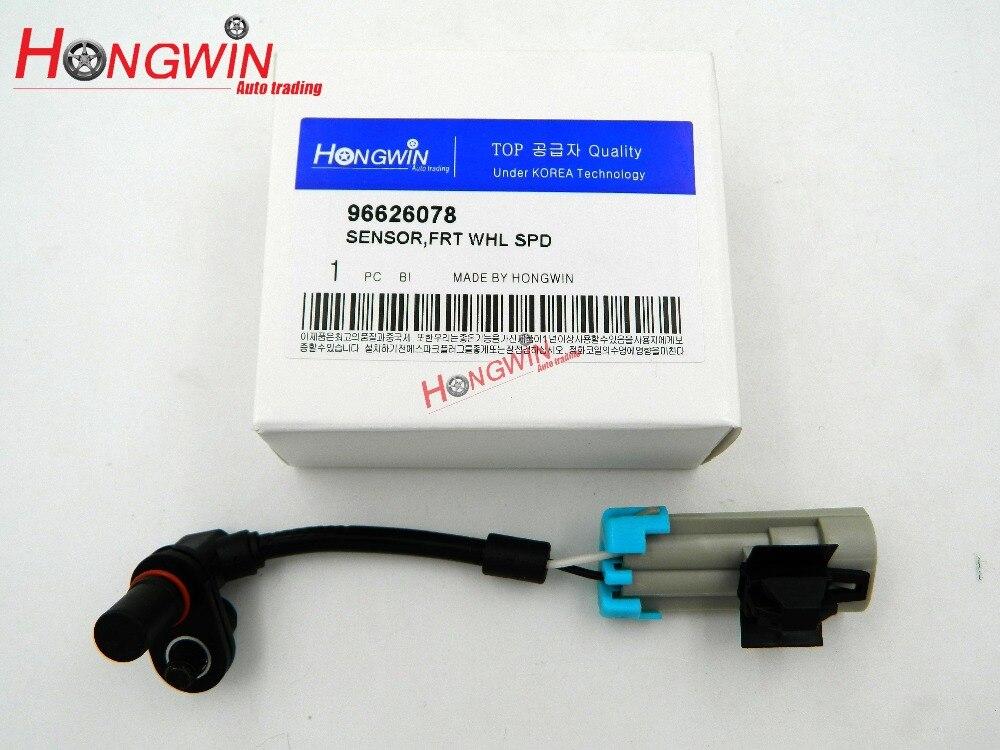 ABS Wheel Speed Sensor Front Left Fits Pontiac Chevrolet Equinox Captiva Saturn Opel 2007-2013 96626078,19256115,5S8403,ALS1748