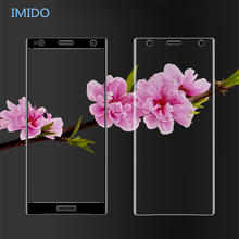 IMIDO 3D Tempered Glass For Sony Xperia XZ1 XZ2 Compact XZ XZS X XA XA2 ultra XA1 Plus XZ Premium Full Cover Screen Protector msd6a638jsmg 8 xz