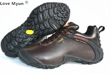 Men Genuine Leather Casual Shoes Outdoor Waterproof Warm Breathable casual Shoes 888
