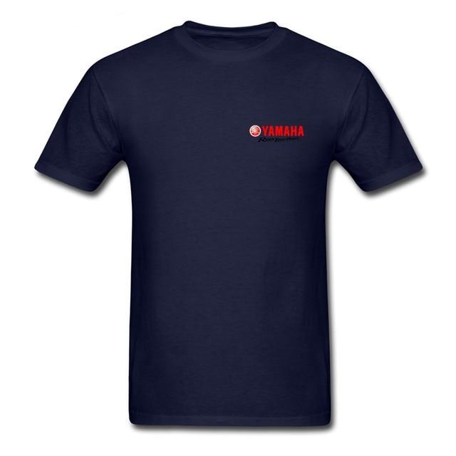 Summer YAMAHA T-shirt Vogue Trend Fashion Fashion Men's Fashion Short-sleeved T-shirt Yamaha Logo Revs Your Heart Way T-shirts