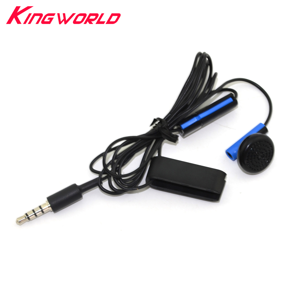 3.5mm Wired Gaming Control Microphone handsfree game Headset Earphone With MIC ON/OFF For Sony For playstation 4 For PS4