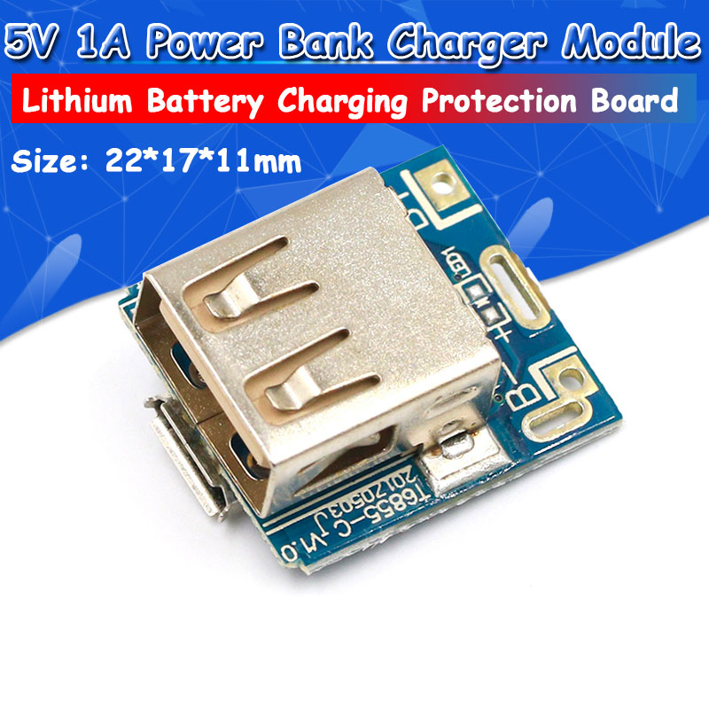 5V Step-Up Power Module Lithium Battery Charging Protection Board Boost Converter LED5V Step-Up Power Module Lithium Battery Charging Protection Board Boost Converter LED