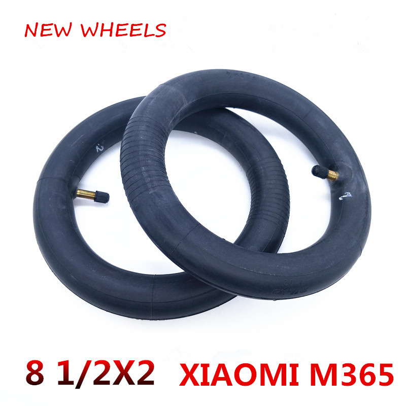 Xiaomi M365 Electric Scooter Parts Front And Rear Wheel Universal Inner Tube 8 1/2x2 Increase Thickness Non-original Sports & Entertainment