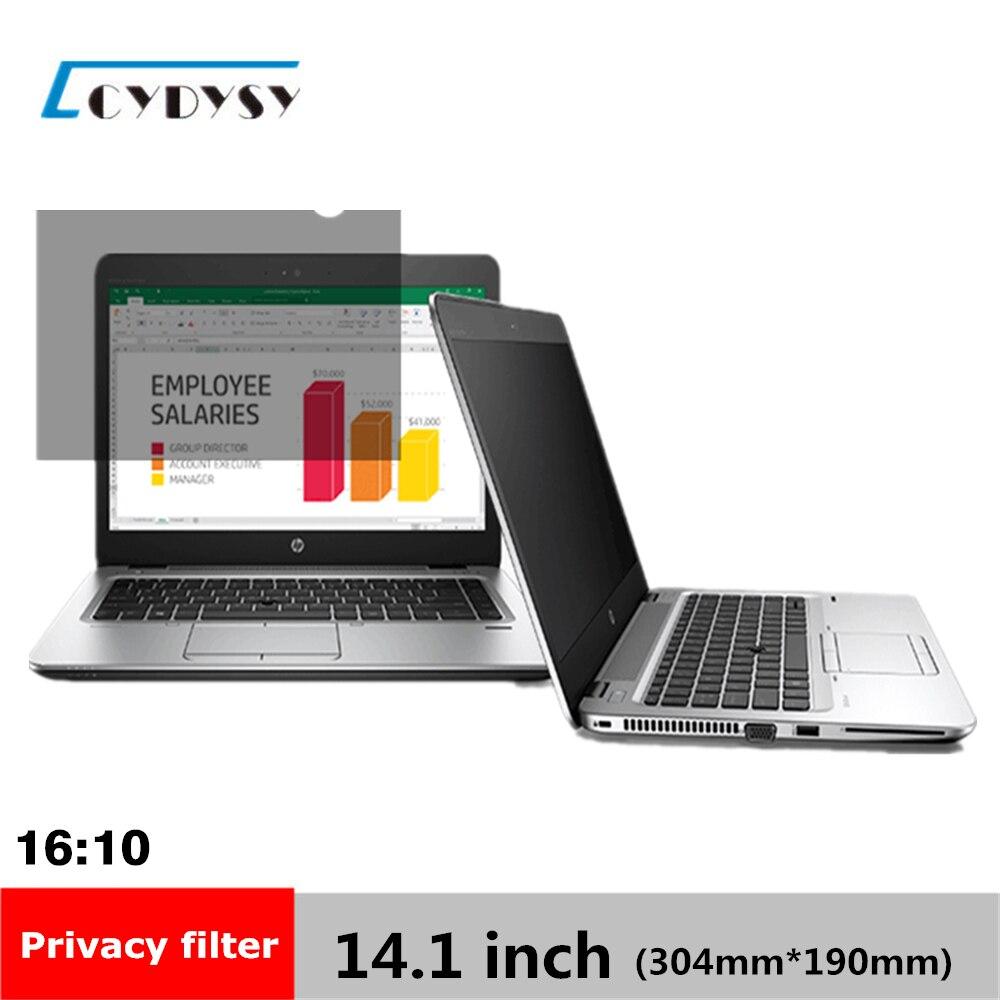 14.1 pouce Filtre de Confidentialité LCD Écran De Protection film pour  16 10 Ordinateur Portable 12
